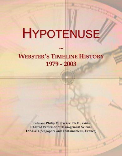 Hypotenuse: Webster's Timeline History, 1979 - 2003