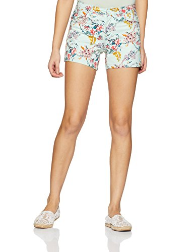 DJ&C by fbb Women's Shorts (1000863792010_Sea Green_28)