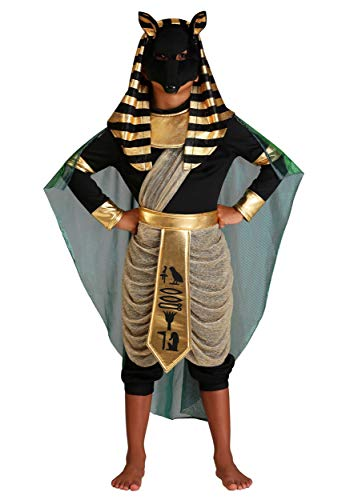 Anubis Costume For Kids Ancient Egypt Costume Small