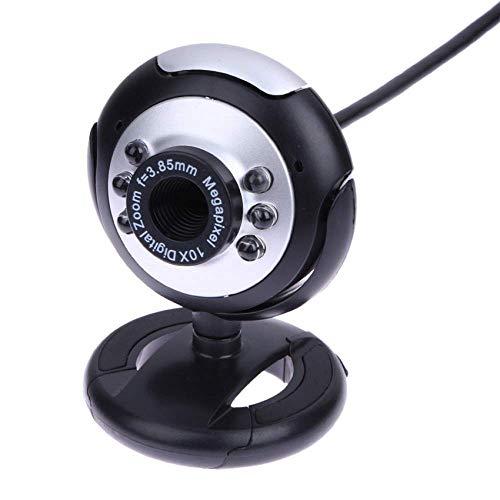 STM32 by ST USB Video Computer Cámara Seis Luces Night Vision Free Drive Clip Cámara de Comercio Exterior Cámara de Alta definición