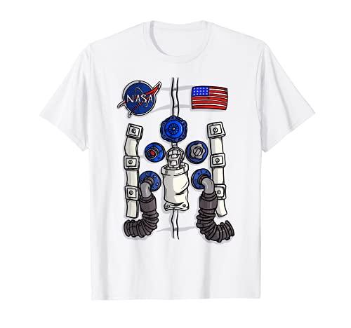 Regalo para el amante de la agencia espacial divertido disfraz de astronauta de la NASA Camiseta
