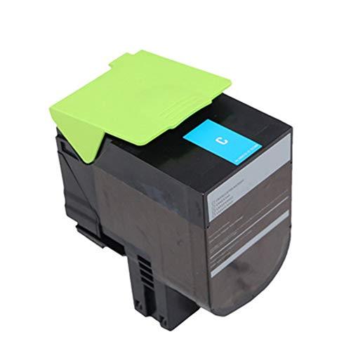 Farblaserdrucker Tonerkartusche C540H2KG C540H2CG C540H2MG C540H2YG für Lexmark C540dw / C540n / C543dn / C544n / C544dw C544dn / C546dtn Lexmark X543dn / X544dn / X54n / X544n-blue