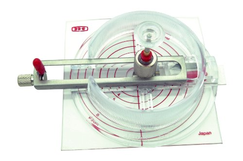 NT CUTTER Circle Cutter, 11/16 inch to 6-11/16 inch Diameter (C-1500)