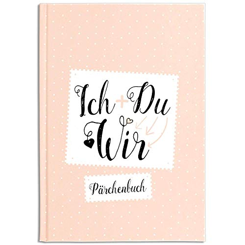 Cupcakes & Kisses® Pärchenbuch zum Ausfüllen I Liebeserklärung an den Partner I Erinnerungsbuch für Paare I Süße Geschenkidee für Freund & Freundin