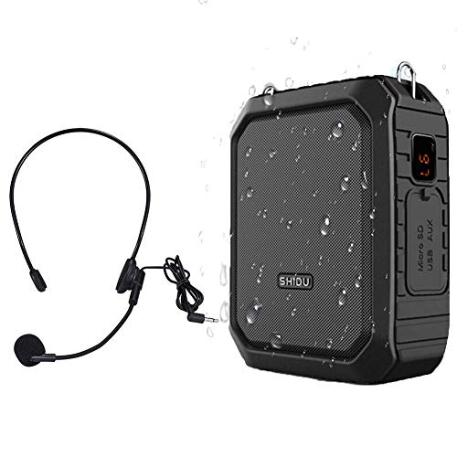 Portatil Amplificador de voz (18W) with 2200mAh pila al lithiumand Wired Micrófono...