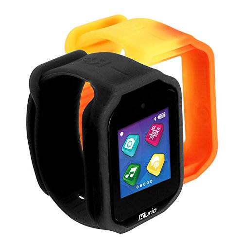 Kurio Watch 2.0+ The Ultimate Smartwatch Built for Kids with 2 Bands, Black and Color Change
