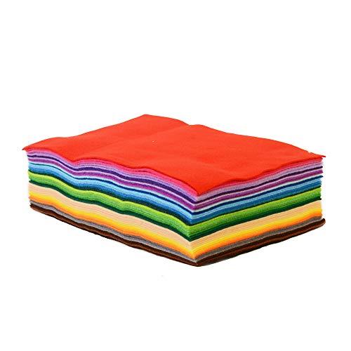 Onepine 15pcs 12x8 inch/30x20cm Felt Fabric Sheets