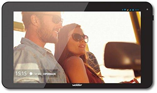 'Wolder miTab Copenhague–Tablet da 10.1, Octa Core a 2GHz, 1GB di RAM, 8GB di memoria interna, Android 5.1)