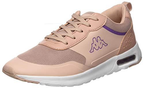 Kappa Damen Darwin Sneaker, 7110 dk.rosé/White,39 EU