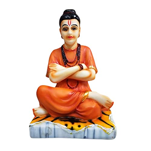 ADIYOGI Sripada Sri Vallabha Idol para salpicadero de coche y pieza de regalo  Shripad shrivallabh murti 1 pieza, pequeño