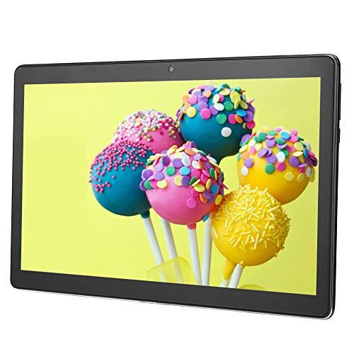 Hopcd Tabletas Android de 11.6in, Tabletas de teléfono móvil 4G con Pantalla IPS de 1920x1080, Tabletas portátiles de 4GB RAM + 128GB Android8.0, WiFi 2.4G/5G, Bluetooth,(EU+Negro)