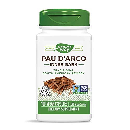 Pau dArco interior de la corteza, 545 mg, 100 Cápsulas - Camino de la Naturaleza