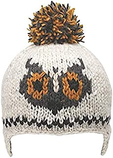 Kid's Warm Winter Wool Knit Creatures Beanie | Ethical Fair Trade Production | Handmade in Nepal