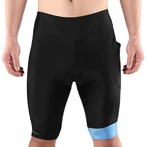 Tiekoun Men's Padded Bike Riding Bicycle Pants Now $5.00