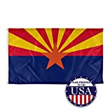 Vispronet - Arizona State Flag - 3ft x 5ft Knitted Polyester, State Flag Collection, Made in The USA (Flag Only)