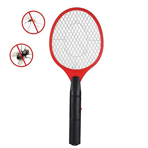 ZKYXZG Scacciamosche Elettrico Pest Reject Racket Trap Home Tool Electric Mosquito Swatter Anti Mosquito Fly Repellent Bug Insect Repeller,Light Green