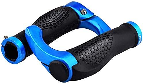 Accesorios de bicicletas Bicicletas apretones de manillar de la bici apretones de manillar de la bici apretones de bicicletas puños del manillar ergonómico Diseño de goma BTT Montaña de aleación de al