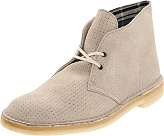 Clarks Men's Desert Boot,Grey Perforated,7 M US (B0058ZNMTI) | Amazon price tracker / tracking, Amazon price history charts, Amazon price watches, Amazon price drop alerts