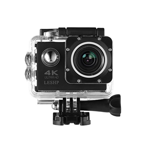 Sport Action Camera, ultra HD 4 K WiFi 1080p 16 MP + 170 gradi di angolo impermeabile DV videocamera per sport outdoor