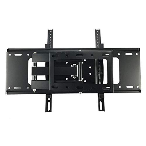 TBTUA TV-Wandhalterung Passend for die meisten 32-55-Zoll-Fernseher. Schwenkbare Halterung mit Zwei Gelenkarmen, LED-, LCD-, OLED- und Plasma-Flachbildfernseher, gebogener Fernseher
