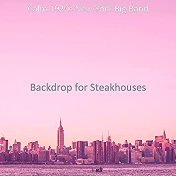 Backdrop for Steakhouses