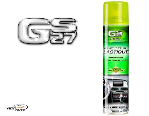 GS27 - Rénovateur Plastiques - Finition Satinée - Citron/Orange