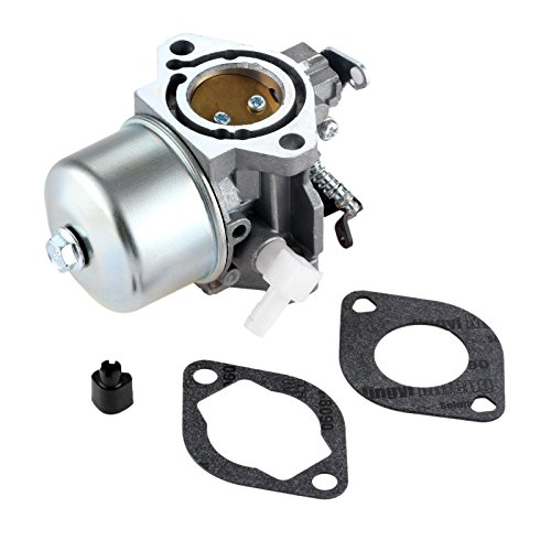 Hicello Carburetor and Gaskets Compatible with Briggs Stratton Walbro LMT 5-4993 699831