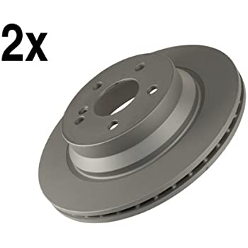 2006 Benz E350 w//Rear Vented Rotor OE Replacement Rotors w//Ceramic Pads R
