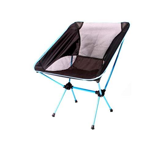 X&JJ Campingstoel, ultralichte tuinstoel, opklapbare visstoel, compacte, draagbare outdoorstoel met draagtas, voor camping, BBQ, strand, maximaal draagvermogen 150 kg