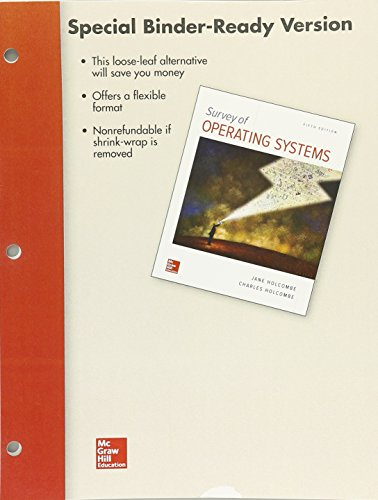 Looseleaf for Survey of Operating Systems, 5e