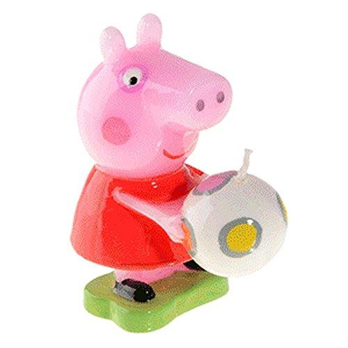 Modécor - Bougie Peppa Pig 8cm et son ballon