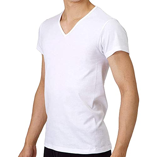 グンゼ YG 紳士VネックTシャツ YV0015N ホワイト M