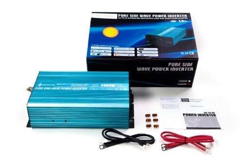 Spannungswandler Sinus Wechselrichter 2000 Watt 12-230V