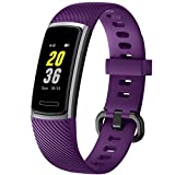 Letsfit Fitness Trackers HR, Activity Tracker with Heart Rate Monitor IP68 Waterproof Smart Watch, Step Counter, Pedometer Smartwatch, Sleep Monitor for Women Men