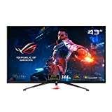 ASUS ROG Swift PG43UQ 109.2 cm (43 Zoll) DSC Gaming Monitor (4K UHD (3840 x 2160), 144Hz, G-SYNC Compatible, DSC, DisplayHDR 1000, DCI-P3 90%, Adaptive Sync, Shadow Boost)