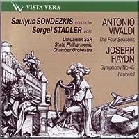 Saulyus Sondezkis, Soloist: Sergei Stadler, violin - Vivaldi, Haydn