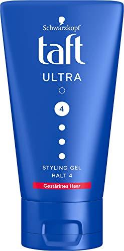 TAFT Styling Gel Ultra Gestärktes Haar Halt 4, 150 ml, TMU13