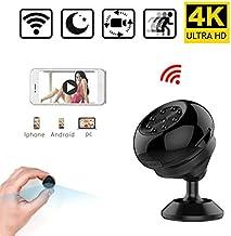 Alician Cámara WiFi HD 1080P 4K Deporte DV Visión Nocturna Detección de Movimiento Video Audio Grabadora Micro Seguridad Videocámara