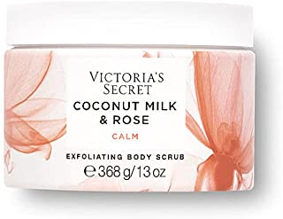 Victoria's Secret Coconut Milk & Rose Natural Beauty Exfoliating Body Scrub (Coconut Milk & Rose)