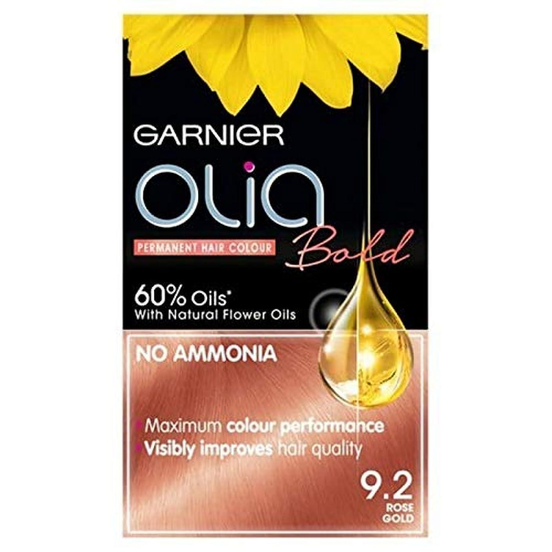 連想近所の急いで[Garnier ] ガルニエOlia大胆永久染毛剤には、金9.2ローズ - Garnier Olia Bold Permanent Hair Dye Rose Gold 9.2 [並行輸入品]