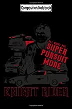 Composition Notebook: Knight Rider - Super Pursuit Mode Tv Show Notebook 2020 Journal Notebook Blank Lined Ruled 6x9 100 Pages