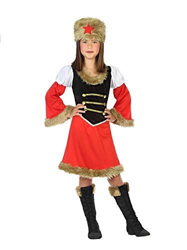 DISBACANAL Disfraz de Rusa para niña - Único, 7-9 años