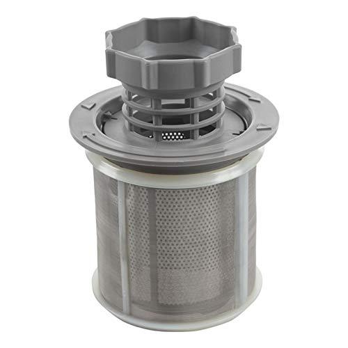 XIAOFANG Conjunto de Filtro de Malla de 2 Partes Lavavajillas PP Gris para lavavajillas 427903 170740 Reemplazo de la Serie para lavavajillas (Color : Gray)