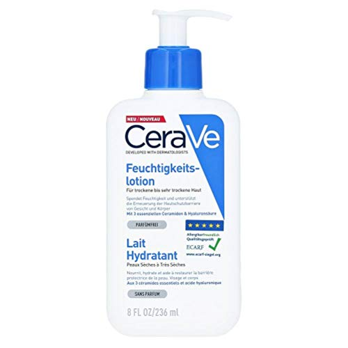 Cerave Moisturizing Lotion Dry And Very Dry Skin 236ml
