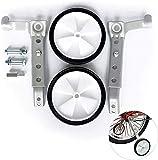 Yuanfenghua Par de ruedas estabilizadoras para adultos de 20 a 26 pulgadas, con cojinetes de apoyo, peso 100 kg