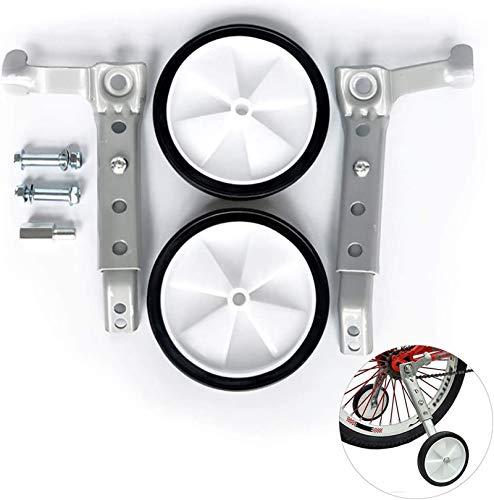 Yuanfenghua Erwachsene Stützräder-Paar-Räder von 22 bis 28 Zoll -Fahrrad stützräder-Lager Gewicht 100 KG