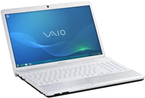 Sony Vaio EJ2E1E/W 44 cm (17,3 Zoll) Laptop (Intel Pentium B950, 2,1GHz, 4GB RAM, 500GB HDD, Intel HD, DVD, Win 7 HP) weiß
