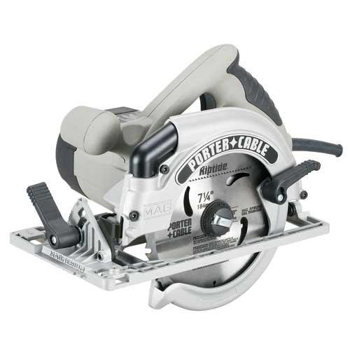 PORTER-CABLE 424MAG 15 Amp 7-1/4-Inch Circular Saw with Blade Left and Brake