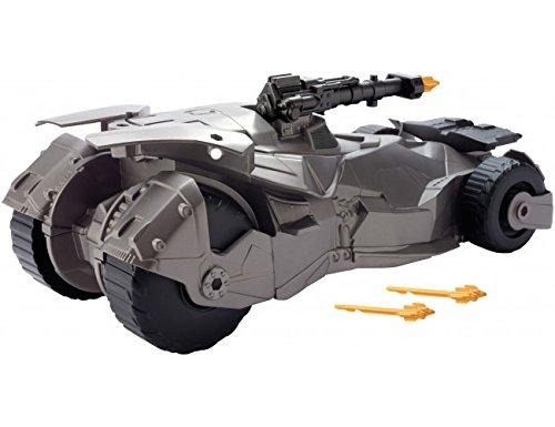 Mattel FGG58 - DC Justice League Movie Feature Batmobil, passend für 15 cm Action-Figuren
