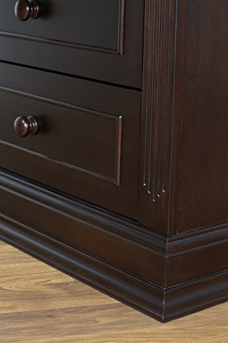 Suite Bebe Bailey 6 Drawer Double Dresser Espresso